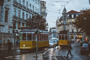 Lisbon Photo by Lisa Fotios from Pexels
