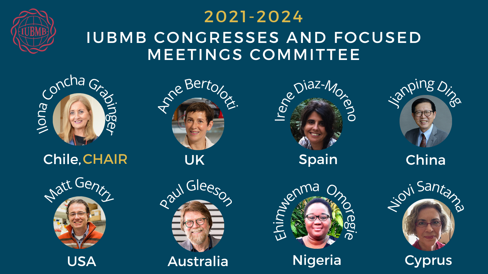2021-2024 IUBMB Congress and FM Committee
